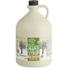 Butternut Mountain 1 Gal Organic Amber Rich Pure Grade A Vermont Maple Syrup