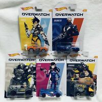 Hot Wheels 2020 HW Overwatch Series, Full Set Of 5 Walmart Exclusive, New