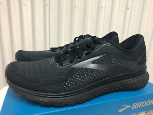 Brooks Glycerin 18 Triple Black Ebony 3M Silver 10 110329 1D 071 19 Running Shoe