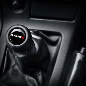 Nissan Infiniti Nismo MT Gear Stick Shift Knob Stitched Premium Genuine Leather