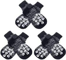 New listing Expawlorer Double Side Anti-Slip Dog Socks with Adjustable Straps - Large
