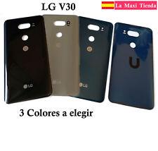 "Tapa Trasera Bateria para ""LG V30"" Cubierta Negra Azul Plata - H930 H932"