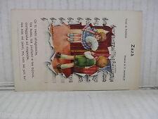 Vecchia cartolina d epoca di ZAZA TARSIS F MORALE EDIZIONI D'ARTE N.2242