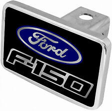 New Ford F-150 Blue/Logo Tow Hitch Cover Plug