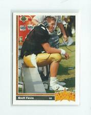 1991 Upper Deck #13 Brett Favre RC Rookie Packers