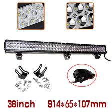 """Barre à LED phare de travail Feux LED Worklight 27W 36W 48W,12""""  24"""" 32"""" 42"""" 52"""""""