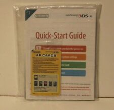 Nintendo 3DS XL System Console MANUAL ONLY Replacement Comes with AR cards