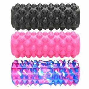 Yoga Block Fitness Eva Foam Roller Pilates Exercises Massage Roller Sport Tool