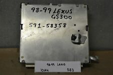 1998-1999 Lexus ES300 GS400 ABS Braking System 8954030390 Module 83 10A4