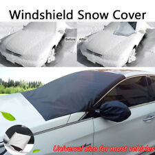 Car Windshield Snow Cover w/ Mirror Protector Waterproof Snow-proof & ice-proof
