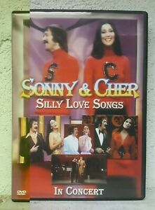 Sonny And Cher DVD Silly Love Songs In Concert RARE - PAL REGIONS - LIKE NEW