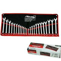 """Neilsen 24pc Drop Forged Combination Spanner Wrench Set 6mm ??? 22mm 1/4"""" - 7/8"""""""