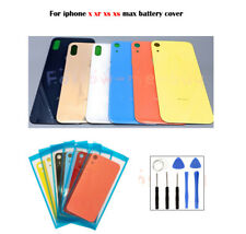 For iPhone XS iPhone XS Max XR Battery Glass Cover Housing Back Door Replacement