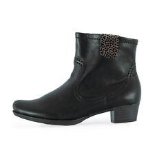 RIEKER Damen Stiefeletten 76698-00 Schwarz / 36 / Ankle Boots, Booties, Winter