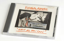 Fiona Apple MAXI CD: Fast as you can. Promo CD.