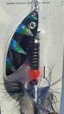 Green FRED-X Rainbow Flyer Tiger Salomon Pike Blade Spinner 11.5g, 407033