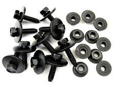 Mazda Body Bolts & Flange Nuts- M6-1.0mm Thread- 10mm Hex- Qty.10 ea.- #391