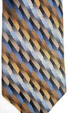 "Nubio Men's Silk Tie 60"" X 4"" Multi-Color American Stripes"