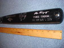 Alex Rodriguez A-Rod Yankees Black Replica Baseball Bat SGA 2005 Louisville