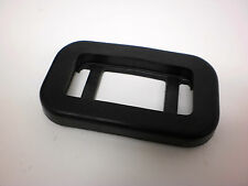 """Black Rubber Bezel Grommet Fits 1.25"""" x 2.5"""" For Small Rice Light LED"""