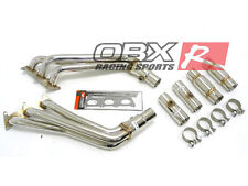 OBX Stainless Exhaust Manifold Header FITS 2010 2011 10 11 Camaro 3.6L V6 LS LT
