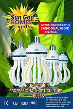 125WATT Mini DUAL SPECTRUM LOTUS~2700K&6500K IN 1bulb.BEST CFL GROW BULB MADE