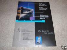 Krell KAV-250p,300cd,250a CD,Amp,Pre Ad from 1998, 1 pg