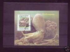 +3039+ CAMBODGE   BLOC MOLLUSQUES  1999