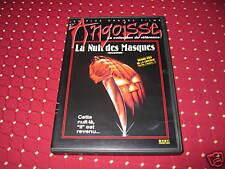 "DVD ""HALLOWEEN - LA NUIT DES MASQUES"" DE JOHN CARPENTER, AVORIAZ 1979 / TB ETAT"
