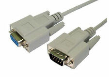 RS232 2m Serial Cable DB9 Male to DB9 Pin Female Null Modem Cable Lead DE9 904