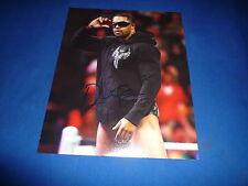DAVID OTUNGA signed Autogramm 20x25 In Person WWE