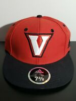 University of Virginia at Wise Cavaliers NCAA Adidas Hat Cap Fitted 7 3/8 Red
