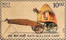 INDIA 2017 MEANS OF TRANSPORT : RATH BULLOCK CART MNH