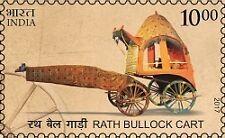 INDIA 2017 MEANS OF TRANSPORT : RATH BULLOCK CART MNH