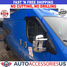 DODGE RAM Promaster 2014–Present Window Air Rain Wind Deflector Guard 2 Pcs