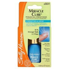 SALLY HANSEN^ Strength Nail Polish MIRACLE CURE Severe Problem CLEAR .45oz #3031