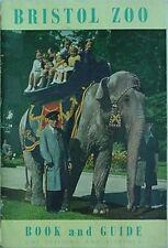 1958 BRISTOL (ENGLAND) ZOO BOOK & GUIDE