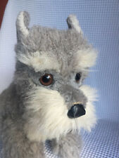 Vintage Steiff Tessie Schnauzer Junior  2883/30, sitting Made in Austria No Flag