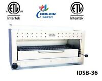 """NEW 36"""" Commercial Gas/Propane Salamander Broiler Made in USA Certified NSF"""
