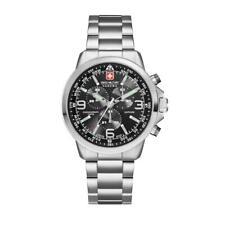 Reloj Pulsera Hanowa Swiss Military SM34208AEU/H04MS Para Caballero láser Chrono Rrp £ 425