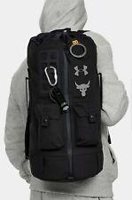 Under Armour UA Project Rock Backpack 60 Bag Gym Bag Hiking Black 1345663 001