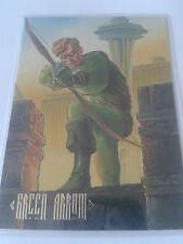 GREEN ARROW 1994 SKYBOX DC MASTER SERIES FOIL F3 CHASE CARD