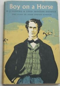 H.J.SAMUEL & ENID MOODIE HEDDLE - BOY ON A HORSE - 1st EDITION 1957