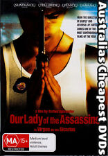 Our Lady Of The Assassins DVD NEW, FREE POSTAGE WITHIN  AUSTRALIA  REGION 4