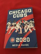 2020 MLB Chicago Cubs media guide / Baez / Bryant / Lester / Rizzo