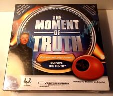 SEALED~The Moment Of Truth, Adult Lie Detector Game - NEW Factory Sealed
