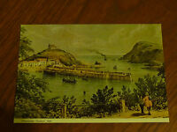 Postcard  6 x 4   ILFRACOMBE HARBOUR 1835   Judges C6152X