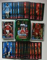 2019 Match Attax EPL Soccer Cards - Lot of 100 cards (20 shiny) + FREE tin