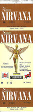 RARE / TICKET BILLET DE CONCERT - NIRVANA : LIVE A PARIS ( FRANCE ) 1994