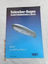 SCHREIBER-BOGEN KARTONMODELLBAU CATALOGUE    1997